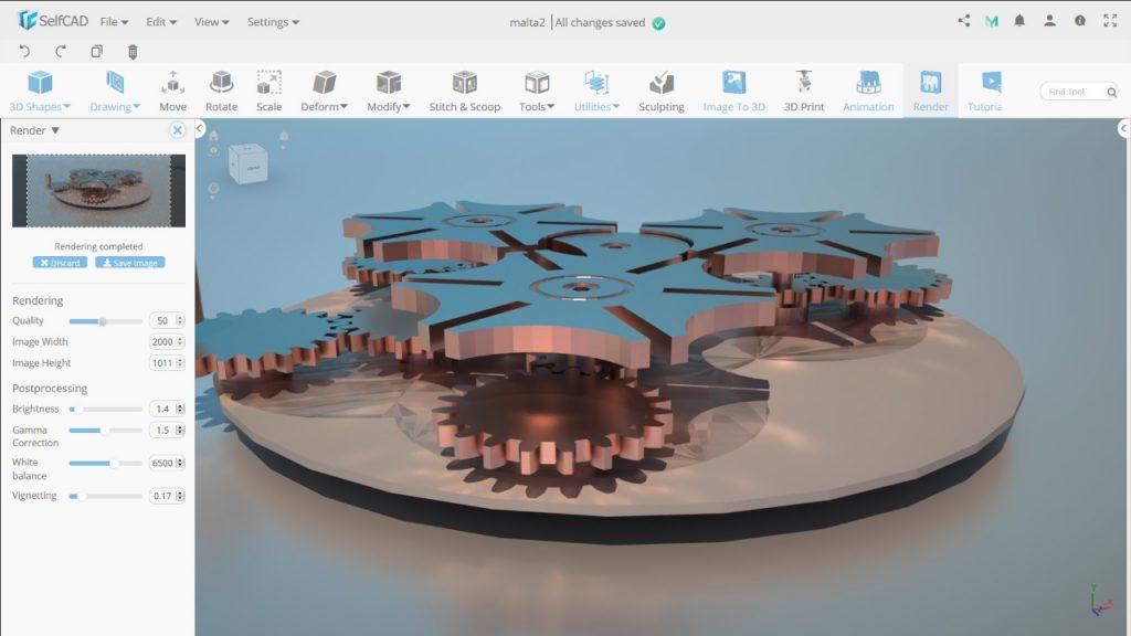 self-learning 3D modeling